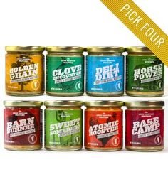 Mustard Assortment – Pick 4