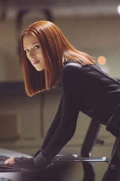 "My name is Natasha Romanoff. I'm look to be in my mid-twenties, but I was actually born circa 1928. I am know as the ""Black Widow"" in the Avengers. I'm a kickass fighter, who excels in really any type of combat."