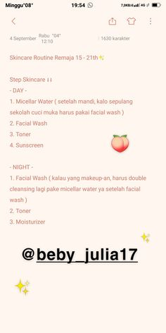 Skin Care Routine For Teens, Skin Care Routine Steps, Skincare For Oily Skin, Micellar Water, Diy Skin Care, Anti Aging Skin Care, Beauty Care, Beauty Skin, Skin Makeup