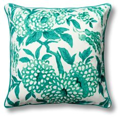 Chinoiserie Pillow Cover