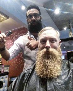 Had the king with me today at @barbershop_boras . #king #beard #skägg #beardlife #beardfam #beardbrother #beardking #swedishbeard #beardporn #man #män #beardbrother #beardgrowth #beards #styl #styling #borås #tatuering #tatoo #outfit #manstyle #manfash #hairdresser #haircut #barbershop #barbershopborås #barber #barberare by iman_khalaf