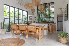 Kuta, Wooden Kitchen Set, Kitchen Sets, Villa Design, House Design, Kitchen Interior, Kitchen Design, Tropical Houses, Luxurious Bedrooms