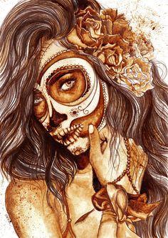 """""""Sugar skull.2"""""""