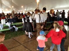 Oktoberfest at Put-in-Bay, Ohio. German food, music, beer & dancing!