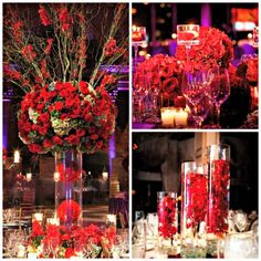 Regal in Red on itsabrideslife.com/Red Wedding Ideas/Valentine's Wedding Ideas