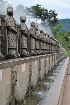 korean art shilla | ... Korea - Warrior Gods Guard Enchanting Relics at Shilla Millennium Park