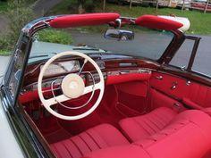 Mercedes Benz 1960 220 SE Cabriolet  restored by Silver Star Restorations  www.silverstarrestorations.com
