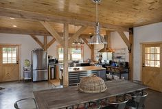 Barn Wood Home | Ponderosa Country Barn Home Project JCH611 | Photo Gallery