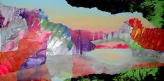 Kate Shaw - Acrylic, Resin, and Mixed Media on Board