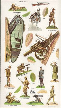 Vintage Uncut 1957 WWI Soldiers Paper Doll Simon Shuster ORG Size Reproduction | eBay