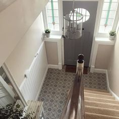 This time last week we were ready to welcome our gorgeous Saturday ladies to & now I'm currently having a well deserved lie… Hallway Decorating, Other Rooms, Staircases, House Front, Hallways, Entrance, Tile Floor, House Plans, Porch