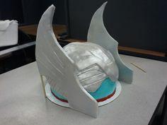 Thor battle helmet cake...pic 2