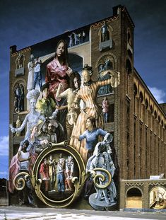 Common Threads Restoration (Image credit: City of Philadelphia Mural Arts Program)  A modern take on Victorian era art.