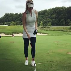 To be featured From: Credit: Tag your friends below DM us for credit if you are owner. Girls Golf, Ladies Golf, Golf 6, Disc Golf, Sporty Chic Outfits, Sexy Golf, Golf Photography, Golf Simulators, Golf Practice