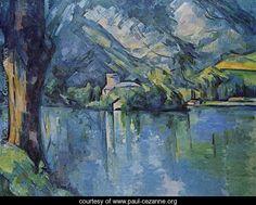 Annecy Lake - Paul Cezanne - www.paul-cezanne.org