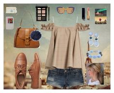 """""""Traveler"""" by lynne-farrell ❤ liked on Polyvore featuring Hollister Co., Anna October, Gap, Chloé, Miadora, Marni, Charlotte Russe, Bobbi Brown Cosmetics, Chanel and Lonely Planet"""