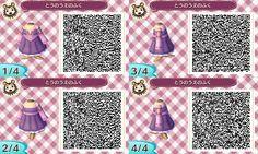 Animal Crossing New Leaf QR codes Rapunzel dress