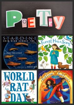 New poetry books I'm loving + poetry writing for kids