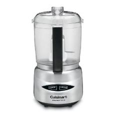 """I was 21 years old, wandering the William Sonoma store, holding my gift certificate from Dad. I was totally lost. With little knowledge or direction I stumbled upon this little food processor. Honestly, I think I bought it because I thought it was """"cute"""". Now 6 years later this little baby still earns the honor of being a """"counter-top"""" appliance. The Mini-prep has a sharp blade for quick and even chopping. It's perfect for small batches of pesto or hummos! $39.99"""