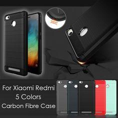 대한 xiaomi redmi 3 s 커버 가방 얇은 매트 탄소 섬유 케이스 닦았 전화 케이스 xiaomi redmi 3 3 s redmi note3 xiomi mi 4 mi 5