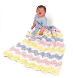 Baby Ripple Afghan