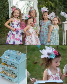 Tips, photos from real parties, and inspiration for throwing a Girls Tea Party! Find resources, girls tea party ideas, and more! Girls Tea Party, Tea Party Theme, Princess Tea Party, Tea Party Hats, Tea Party Birthday, Tea Party For Kids, Toddler Tea Party, Tea Hats, 7th Birthday