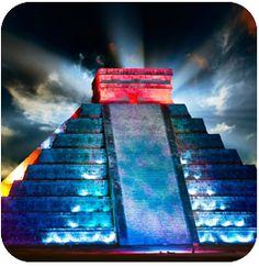 Chichen Itza Night Show - Book with us!   #travel #mexico #mayanruins #chichenitza #vacationideas