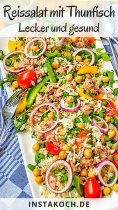 Cobb Salad, Pasta Salad, Rice Salad, Knitted Hats Kids, Dinner For Two, Diy Kitchen, Grilling, Food And Drink, Dinner Recipes