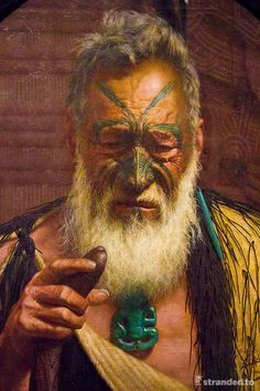 Maori art, Auckland museum, New Zealand