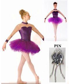 ELEGANCE Glitter Velvet Ballet Tutu Ballerina Dance Costume Child & Adult NEW