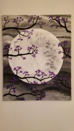 Moon Light evening 16 x 20 original paintings by ArtbyBrendaW