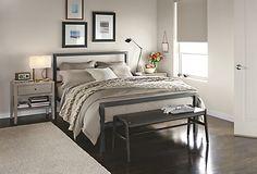 Parsons Natural Steel Bed - Parsons Bed - Beds - Bedroom - Room & Board