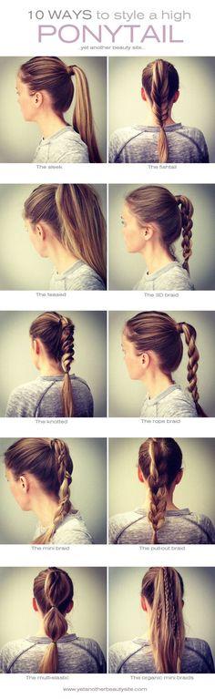 Tuto coiffure pinterest