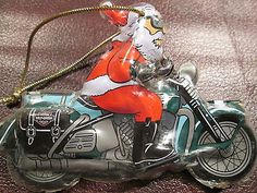 Motorcycle Christmas Ornaments for Bikers- my dad would this ...