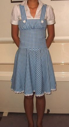 How to Make a dorothy pinafore dress (updated: with link to *mini-tute*).tackling this project for my sweet 9 year old