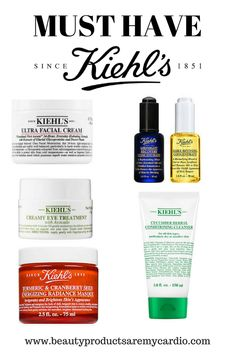 Secret Beauty Remedies KIEHL'S Skincare must haves - If you are looking for products that will work not only all year long but specifically on dry skin. These Kiehl's products are must haves! Beauty Care, Beauty Skin, Beauty Hacks, Beauty Tips, Beauty Secrets, Beauty Ideas, Diy Beauty, Skin Care Regimen, Skin Care Tips