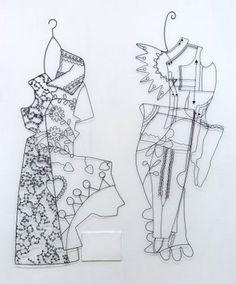 I love Julia Griffiths Jones wire sculptures