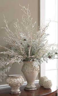 Peppermint Forest Christmas shop-snowy white decoration