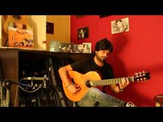 Chicuelo plays the Hermanos Conde (Atocha) Negra 2013 flamenco guitar for sale - YouTube