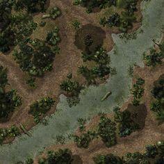 deviantart map fantasy down rpg maps tabletop battle battlemap wilderness madcowchef dungeon pathfinder tiles maker combat battlemaps games ak0 pass
