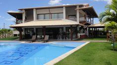 Belíssima Casa Com Vista Privilegiada Para Lagoa - Casa de luxo nova construída em 2011 totalmente equipada com todos os materiais de primeira qualidade.