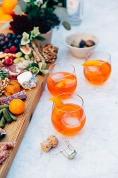 aperol spritz recipe on apartment 34 #foodie