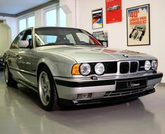 This fine example of the generation BMW with just was specially built in a unique / one-off individual color combination… Bmw E34, Bmw 5 Series, Bmw Cars, Modern Classic, Transportation, Mint, Contemporary, Instagram, Unique