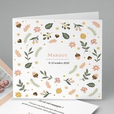 Watercolor Birthday Cards, Watercolor Invitations, Baby Illustration, Illustrations, Planner Book, Jolie Photo, Baby Design, Wall Prints, Invitation Design