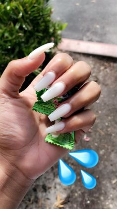 25 most impressive ombre black long acrylic coffin nails create your best impression today 00037 com is part of Prom nails French Natural - Prom nails French Natural Aycrlic Nails, Coffin Nails, Pink Manicure, Manicure Ideas, Nail Ideas, Milky Nails, Fire Nails, Nagel Gel, Best Acrylic Nails