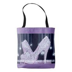 Diamonds All-Over-Print Tote Bag