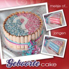 Geboorte cake - Dr. Oetker