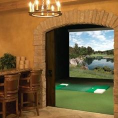 trackman simulator one day please home ideas pinterest golf