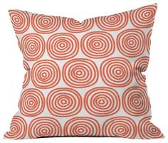 Khristian A Howell Vienna Swirls Outdoor Throw Pillow contemporary-outdoor-cushions-and-pillows