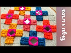 Hand embroidery 2019   Unique All over Mirror hand embroidery tutorial by Keya;s Craze - YouTube